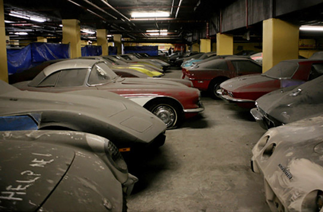 Ultimate Barn Find Peter Max Corvette Collection