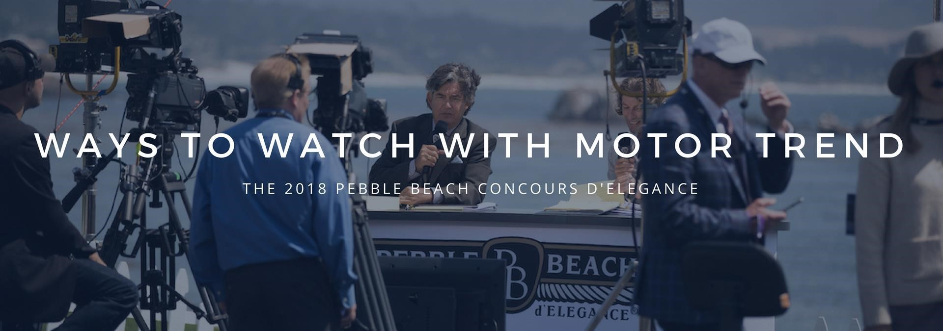 ways to watch pebble beach