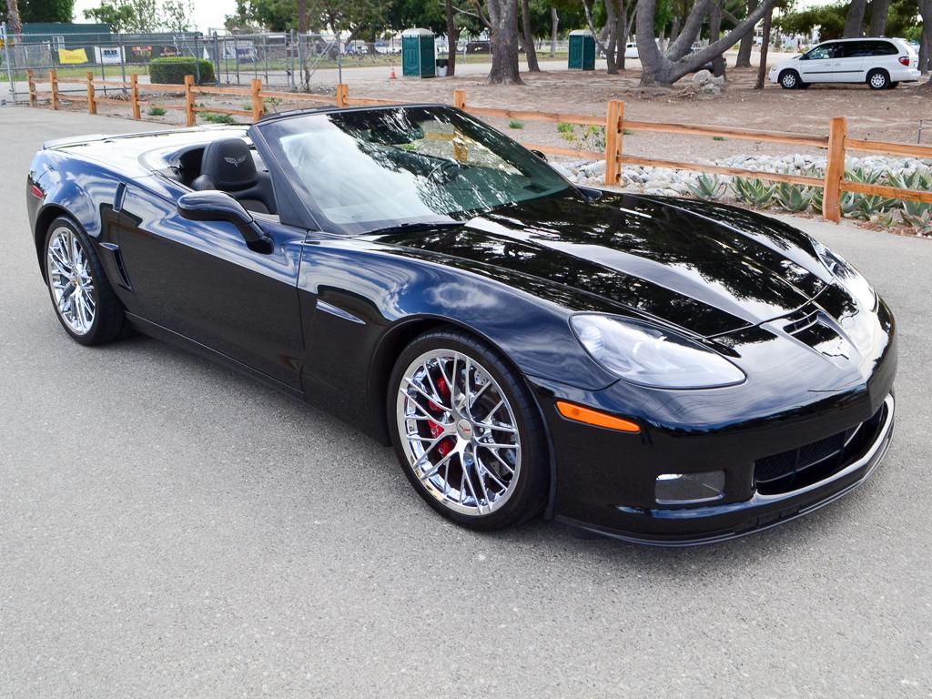 2017 Black Chevrolet Corvette Convertible