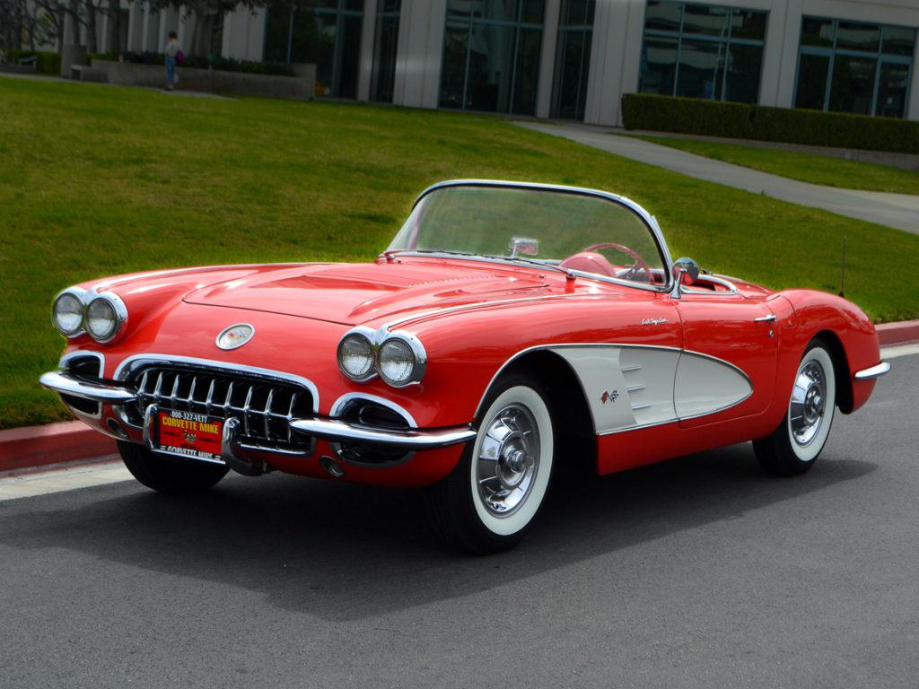 Kelebihan Corvette 1958 Top Model Tahun Ini