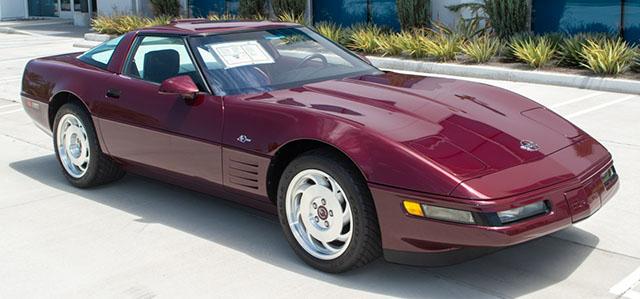 1993 Corvette 40th Anniversary Zr 1 Coming