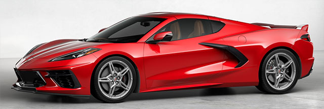 2020 c8 red naturial