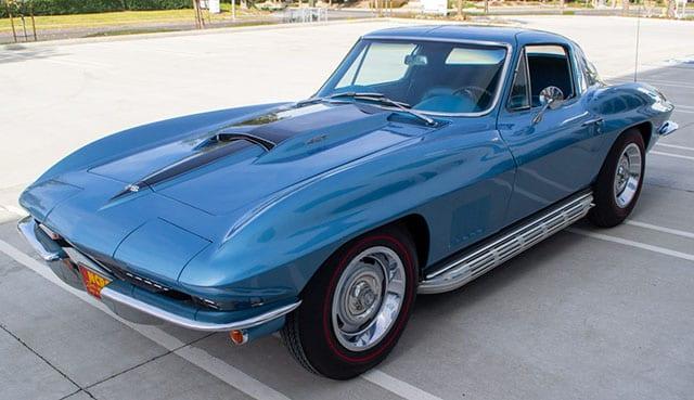 1967 blue corvette l71 coupe coming