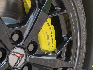 2020 c8 yellow brakes
