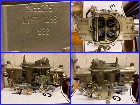 Corvette Fuel Injection 1957 parts