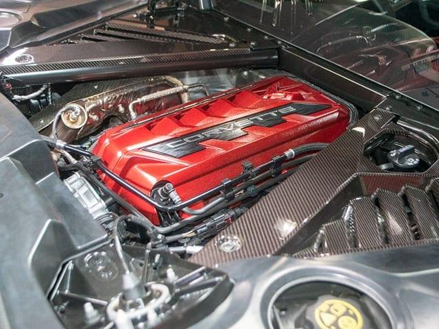 2021 black c8 corvette coupe 3lt z51 engine 1