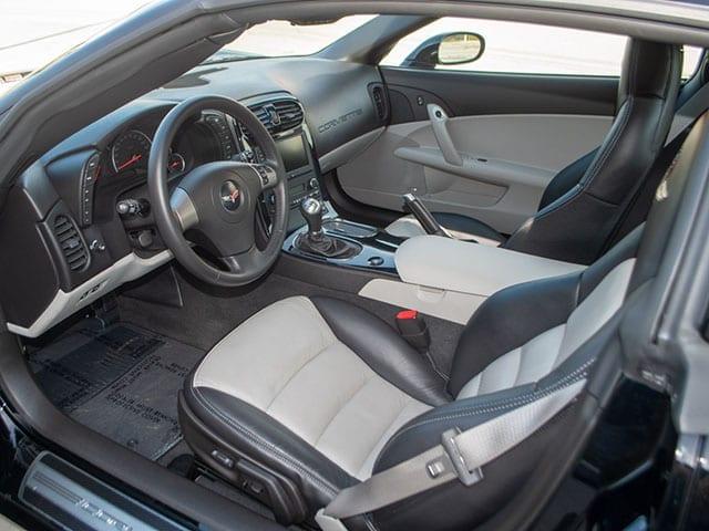2008 black corvette indianapolis 500 pace car coupe 0583 interior 1